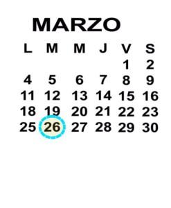 MAR 26