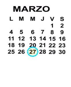 MAR 27