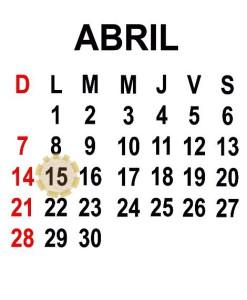 - Calendario económico para el 15/04/2013 -