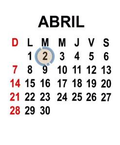 ABRIL 2 2013