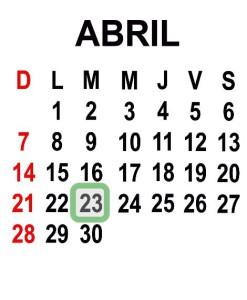 ABRIL 23 2013