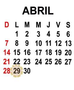 ABRIL 29 2013
