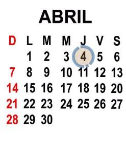 ABRIL 4 2013