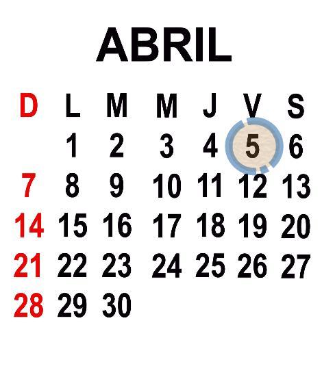 ABRIL 5 2013
