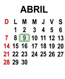 ABRIL 9 2013