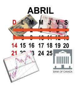 Eventos a tener en cuenta para la semana del 15 al 20 de abril de 2013