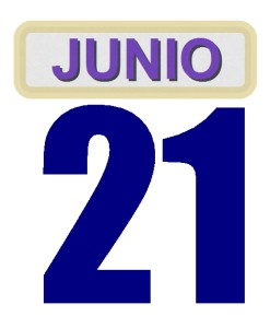 21 junio