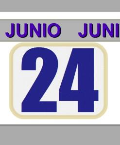 24 junio