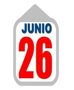 26 junio