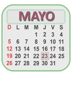 MAYO 23 2013