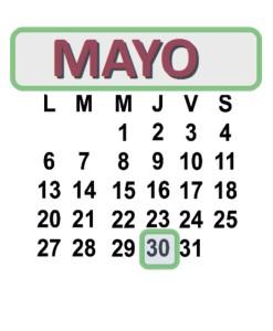 MAYO 30 2013