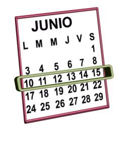 week 10 al 15 de junio