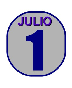 Julio 1