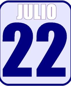 Julio 22