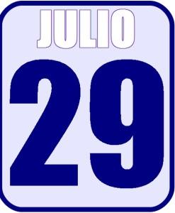 Julio 29