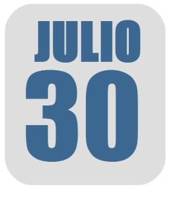 Julio 30