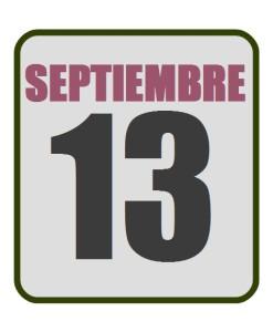 septiembre 13
