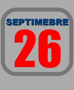 septiembre 26
