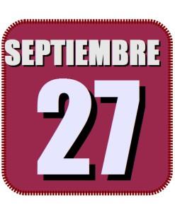 septiembre 27