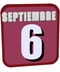 septiembre 6