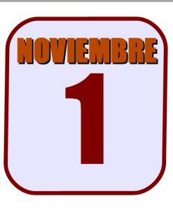 noviembre 1