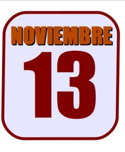 noviembre 13