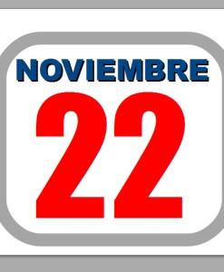 noviembre 22