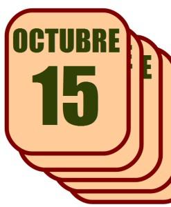 octubre 15