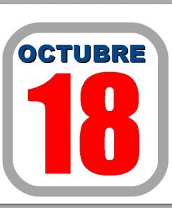 octubre 18