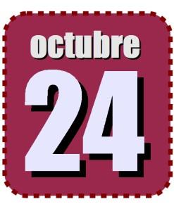 octubre 24