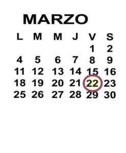 MAR 22