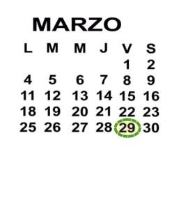 MAR 29