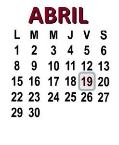 ABRIL 19 2013