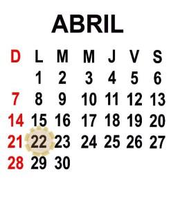 ABRIL 22 2013