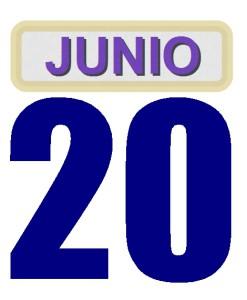 20 junio
