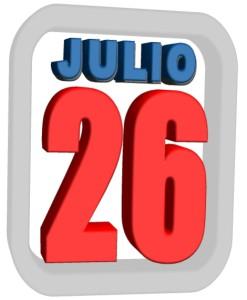 Julio 26