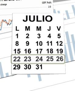 week 22  al 26 de julio