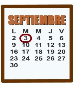 septiembre 3