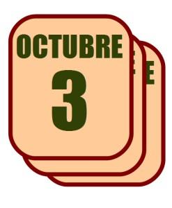 octubre 3