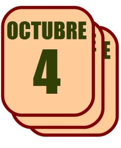 octubre 4