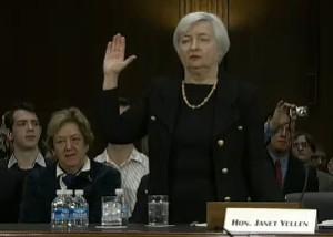 Janet Yellen va al Congreso