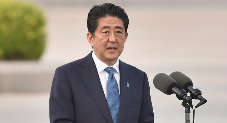 <> on May 27, 2016 in Hiroshima, Japan. It is the first time U.S. President makes an official visit to Hiroshima, historic site where the atomic bomb was dropped in the end of World War II in 1945.